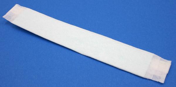 クリーンルーム用汗吸収シート・医療用汗吸収パットです。滅菌処理済み