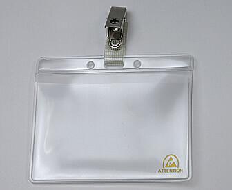クリーンルーム用静電気ESD対策用ネームカードホルダーは、名刺を入れるカードケースです。
