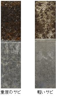 酸を使わずに鉄の赤サビを除去する中性クリーナーは、安全安心の錆び除去液です。