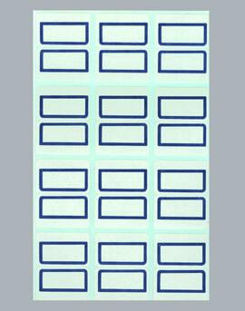 クリーンルーム用インデックスラベルシールは、見出しタックシールです。