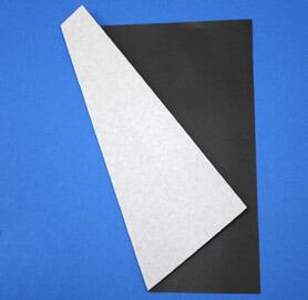 黒色のクリーンペーパーは、片面が黒色のクリーンルーム用無塵紙