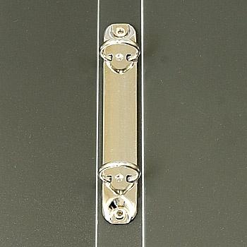 クリーンルーム用導電性キングファイルは、静電気帯電防止のワンタッチ式バインダーファイルです。