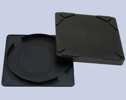 クリーンルーム用のウエハー容器6インチ用は、導電性プラスチックの静電気帯電防止の対策品です。