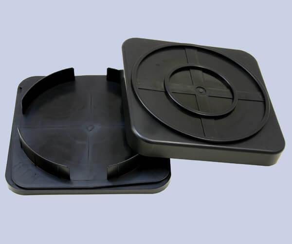 クリーンルーム用の導電性ウエハー用ケースは、静電気対策ができる帯電防止品です。