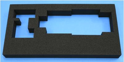 導電性クリーンフォームは、クリーンルーム用のクッション緩衝材です。