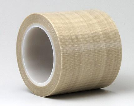 クリーンルーム用テフロンテープは、PTFEガラスクロスの粘着テープで、滑りやすく汚れが付着しない、耐熱粘着テープです。