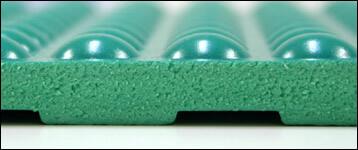 静電気帯電防止の立ち作業者用クッションマットは、クリーンルーム用の疲労を軽減するシートです。