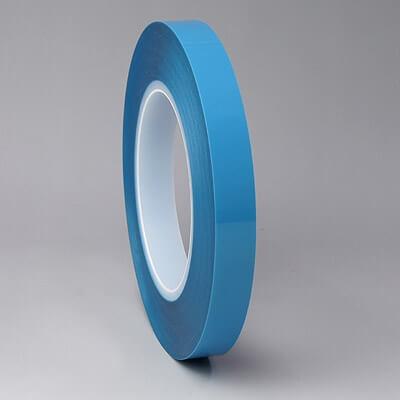 クリーンルーム用両面テープは、青い剥離フィルムのセパレーターなので、見て分かりやすい粘着テープです。