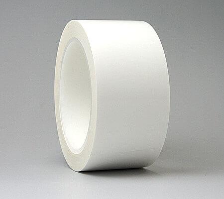 白いクリーンルーム用ガムテープは、クリーンルームで使う安心な粘着テープです。