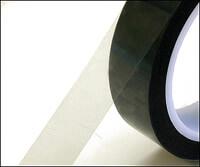 クリーンルームで静電気対策ができる透明なテープは、重ね貼りできる帯電防止の粘着テープです。