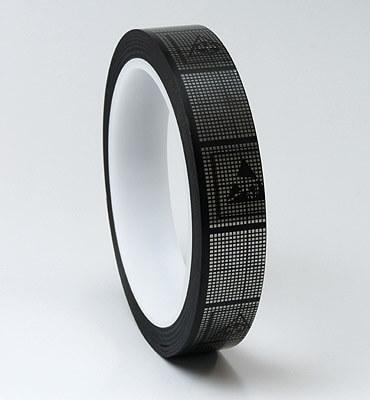 導電性テープは、剥離帯電が発生しない静電気帯電防止のクリーンルーム用粘着テープです。