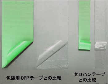 糊残りが少ないクリーンルーム用テープは、仮止め用の粘着テープです。