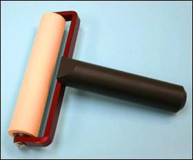 クリーンルーム用ゴミ取りゴムローラーは、コロコロ転がして異物を除去する帯電防止のシリコンフリー掃除ローラーです。