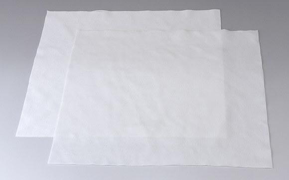 糸くずやホコリが出ないクリーンルーム用ウエスは、純水洗浄済みの低発塵ワイパーです。
