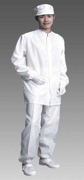 高温に強い耐熱性と燃えない難燃性のクリーンルーム用作業服は、作業者の火傷を防止するクリーンウエアーです。