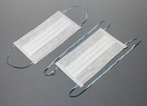 クリーンルーム用マスクは、細菌やホコリを通さない低発塵の三層フィルターの低発塵マスクです。