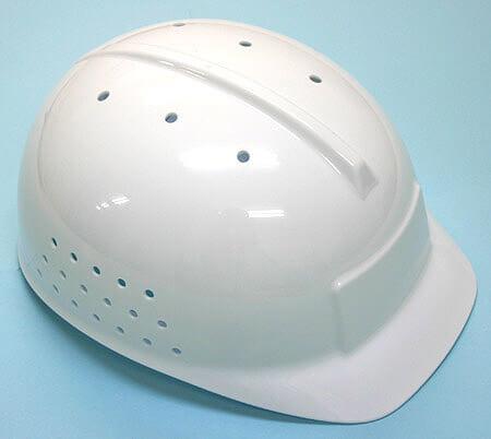 クリーンルーム用ヘルメットは、メンテナンスなどで頭を守る簡易の保護防止です。