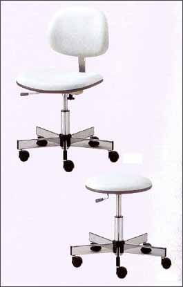 ハイクラスのクリーンルーム用椅子は、静電気対策ができる導電性のチェアーです。