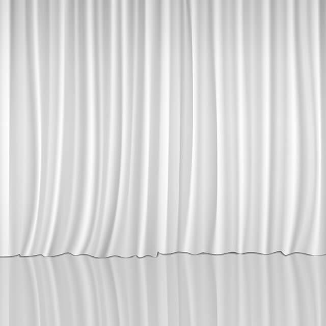 クリーンルーム用カーテンは、低発塵の無塵布生地を使った静電気対策用の帯電防止品です。