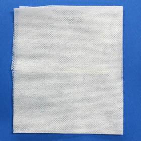 クリーンルーム用不織布ワイパートライセプターは、紙粉や初塵が少ないウエスです。